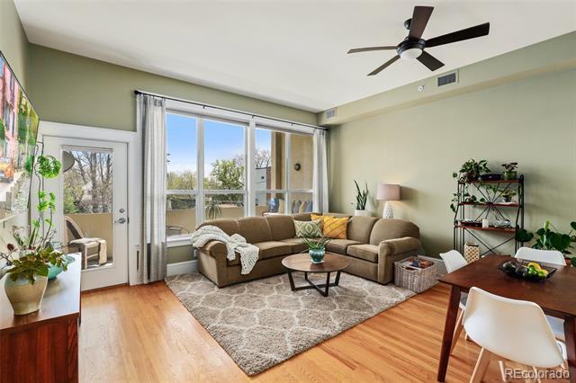 424 E 1st Avenue 2C, Denver  MLS: 1798365 Beds: 2 Baths: 2 Price: $485,000