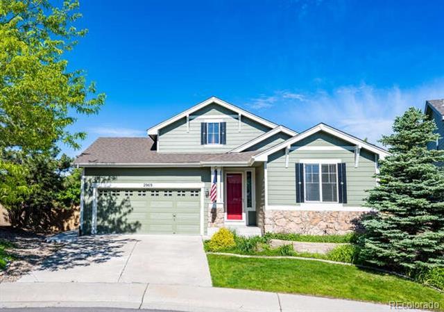 2969  Fox Sedge Lane, highlands ranch MLS: 8939908 Beds: 4 Baths: 3 Price: $725,000